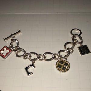 Open link charm bracelet